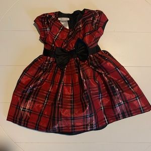 Bonnie Jean 3T Red Christmas Dress